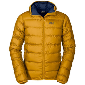 Jack Wolfskin Helium Jas Heren, golden yellow